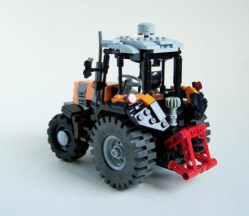 Lego technic Tractor