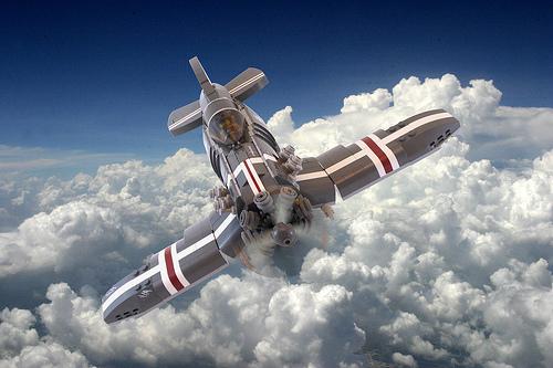 Lego SkyRazor Aircraft