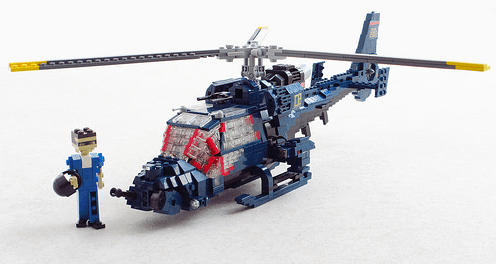 Lego Blue Thunder Helicopter