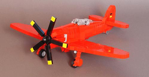Lego German Tug Aircraft