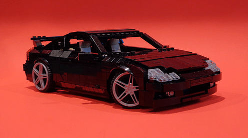 Lego Nissan Silvia