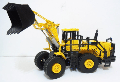 Lego Komatsu WA 600