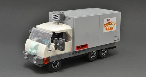 Lego Delivery Van