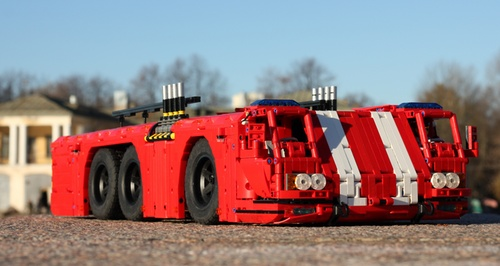 Lego Airport Truck