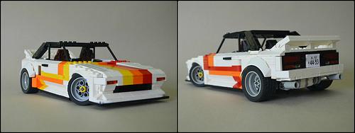 Lego Toyota MR2 T-Ba
