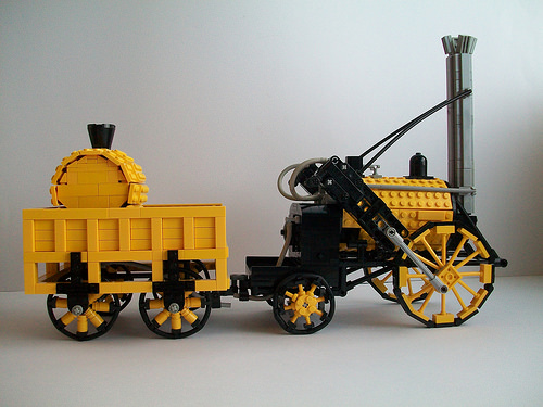 Lego Stephenson's Rocket