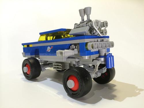 Lego Classic Space Gasser Hot Rod