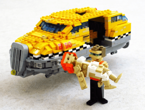 Lego The Fifth Element Taxi
