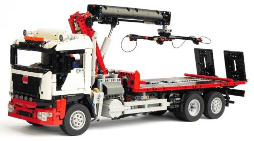 Lego Technic Hoist Truck