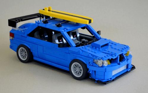 Lego Subaru Impreza WRX STI
