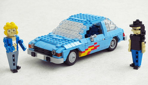 Wayne's World Lego