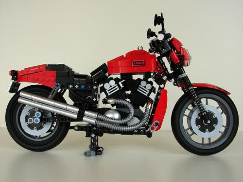 Lego Harley Davidson V-Rod