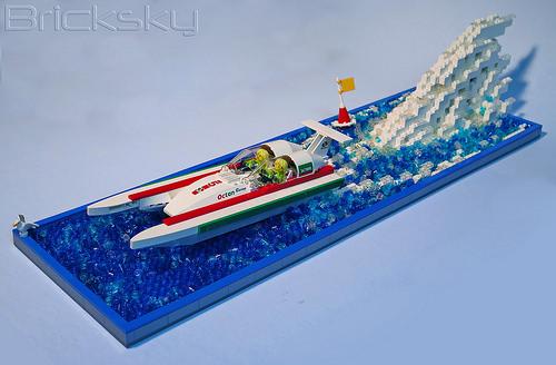 Bricksky boat