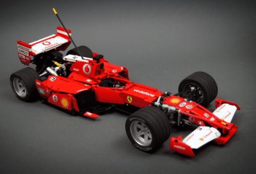 Lego Technic F1 Ferrari