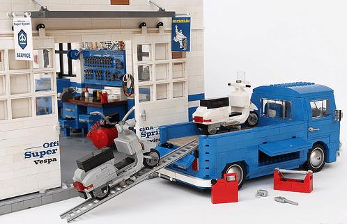 Lego Volkswagen Flatbed