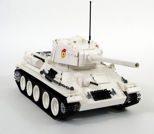 Lego T34-85 Tank