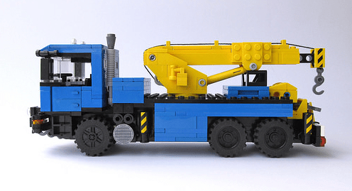 Lego MAN Truck
