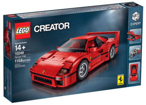 Lego 10248 Ferrari F40 Review