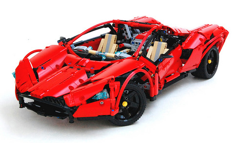 Lego Technic Mistress Supercar