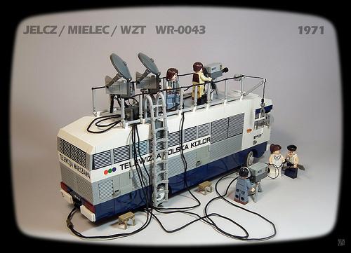 Lego TV Truck Jelcz / Mielec / WZT WR-0043