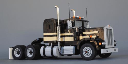 Lego Kenworth 900-A Snowman