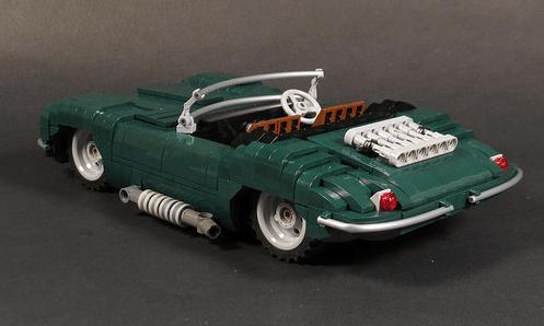 Lego Model Team Jaguar XK-SS
