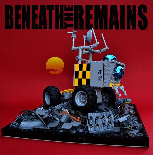 Lego Sci-Fi Space Survey Truck