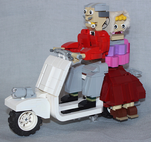Lego Scooter