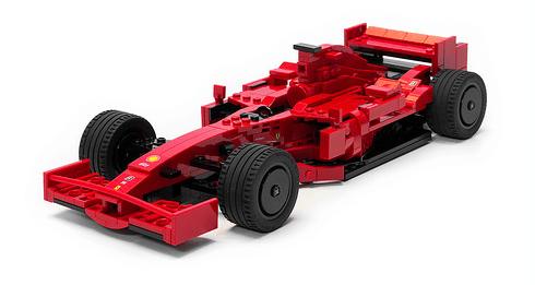 Lego Ferrari F1 F2007