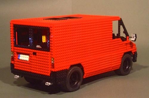 Lego Ford Transit V8