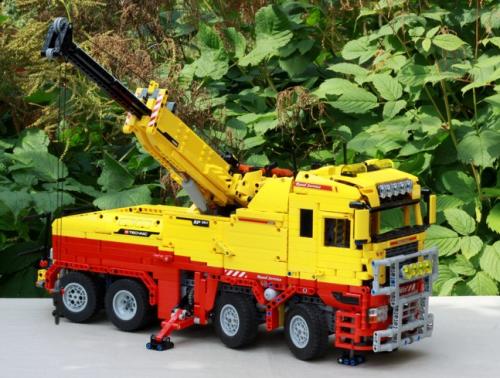 Lego Technic Tow Truck RC