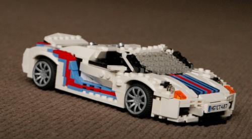 Lego Porsche 918 Spider
