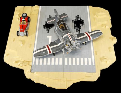 Lego Landing Strip