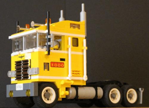 Lego Freightliner Truck