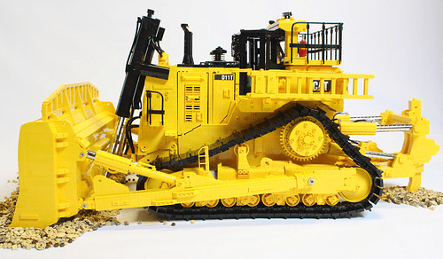 Lego Caterpillar D11t Bulldozer