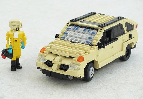 Lego Breaking Bad Pontiac Aztek