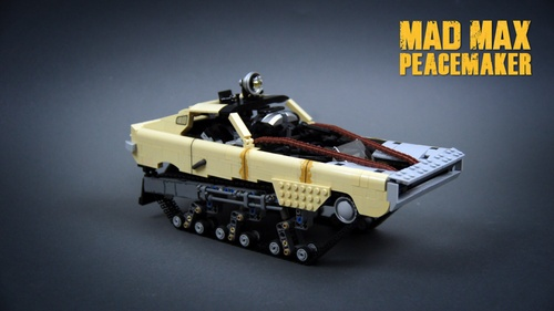 Lego Mad Max Peacemaker Ripsaw Sariel