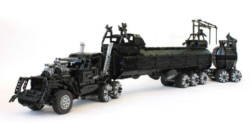 Lego Mad Max War Rig