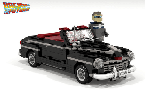 Lego Back to the Future Ford Super Deluxe