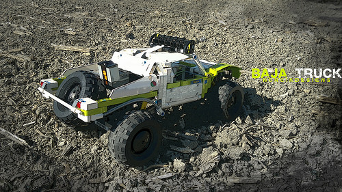 Lego Technic Trophy Truck RC