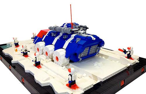 Lego Ice Planet Tank