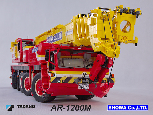 Lego Tadano AR-1200M Crane