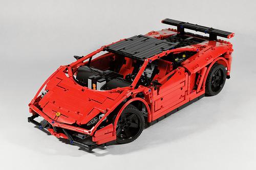 Lego Technic Lamborghini Super Trofeo Stradale