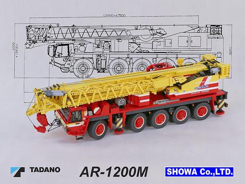 Lego RC Crane