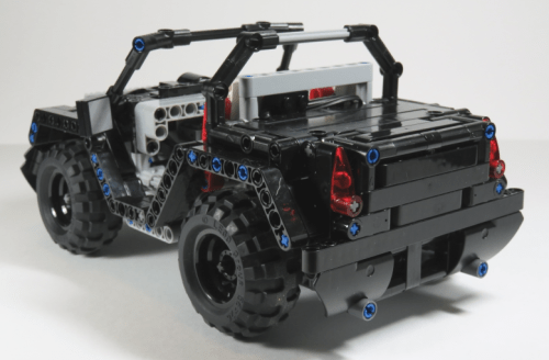 Lego Technic RC Jeep