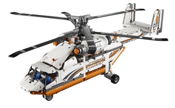 Lego Technic 42052 Heavy Lift Helicopter