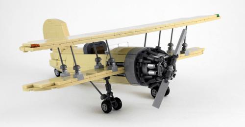 Lego Biplane