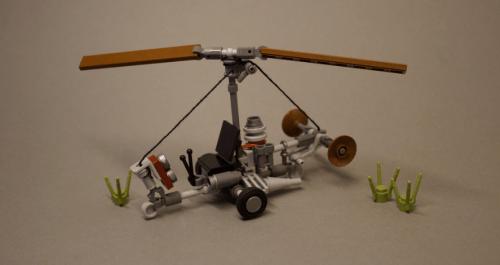 Far Cry 4 Gyrocopter
