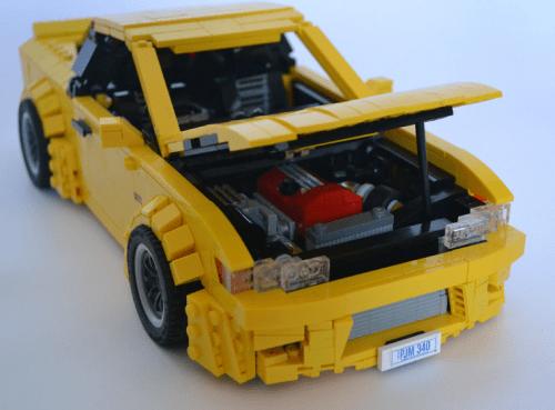 Lego Nissan Rocket Bunny 180SX