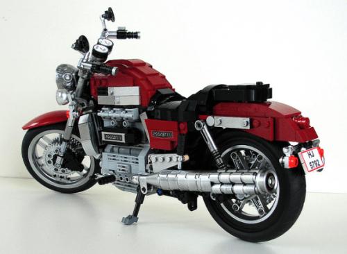 Lego Triumph Rocket Motorbike